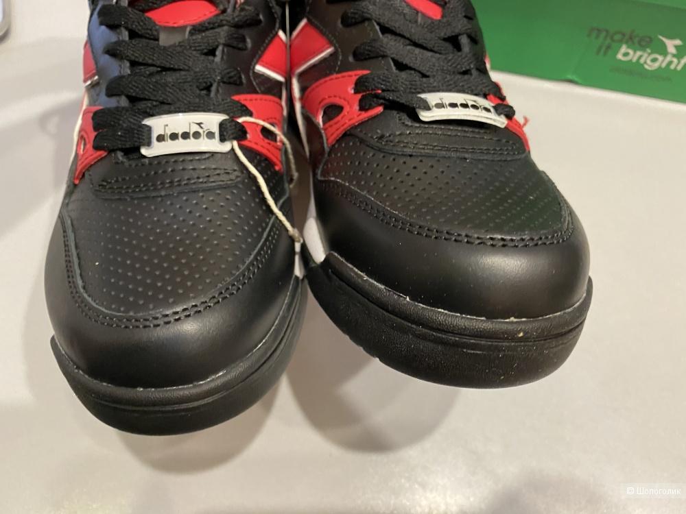 Кожаные кроссовки Diabora. Размер 39EUR. По стельке 25,5 см