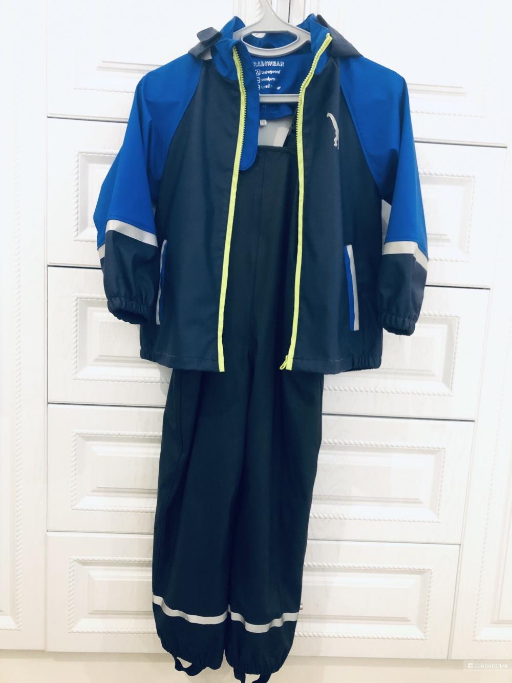 Lupilu комплект куртка + комбинезон 128р.