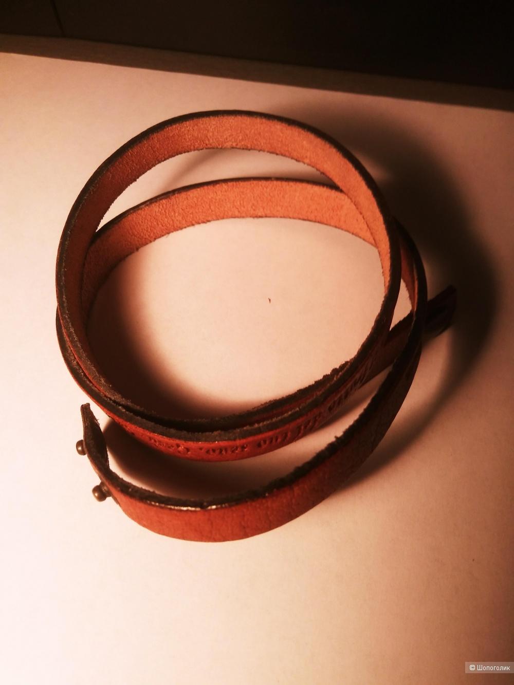 Кожанный браслет.