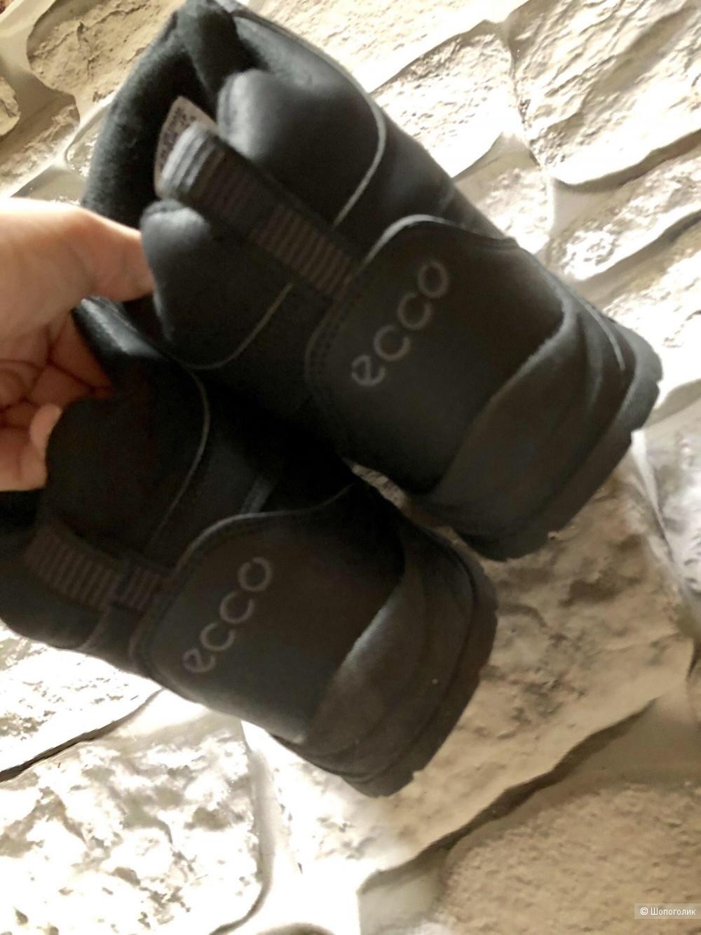 Зимние  ботинки Ecco  р.38,39 ( подростковые)
