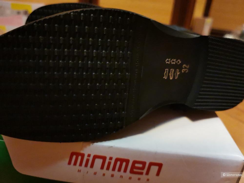 Полуботинки для мальчика минимен minimen р 32, стелька 21,5 см