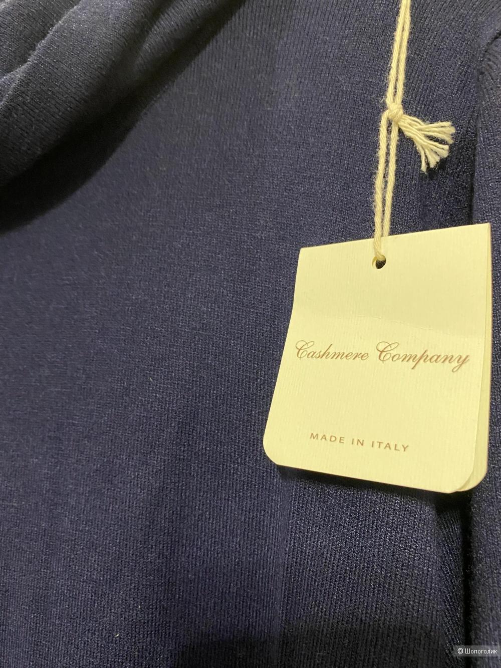 Платье с кашемиром CASHMERE COMPANY, размер 50IT. Маломерит