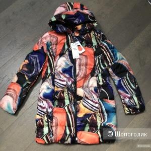 Пуховик пальто STYLE RAINBOW, 44-50