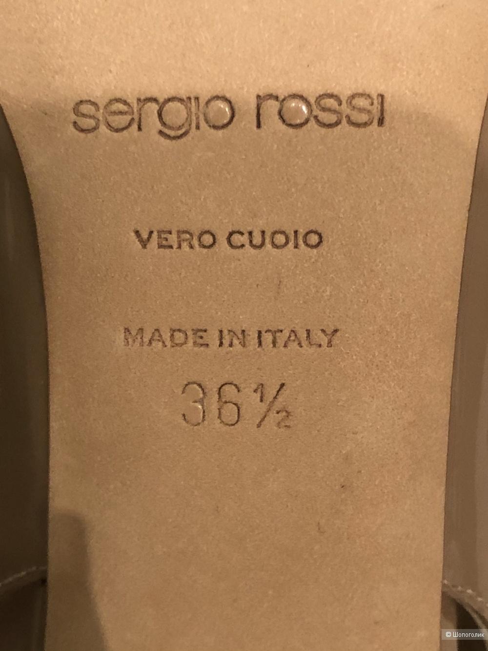 Босоножки SERGIO ROSSI р. 36,5 (маломерят)