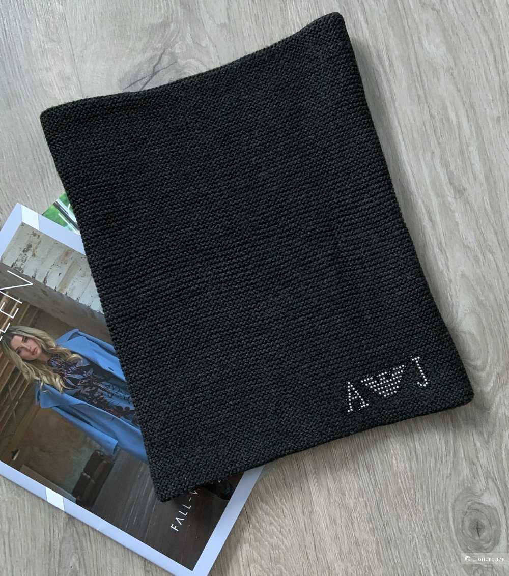 Шарф-снуд Armani Jeans, one size