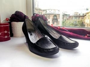 Черные туфли ECCO 37 размер
