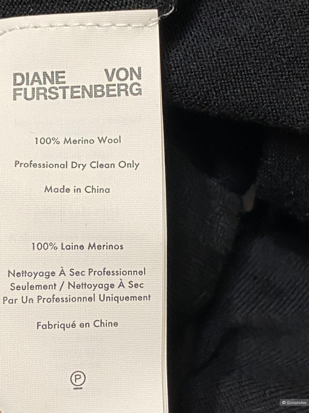 Шерстяное платье DIANE VON FURSTENBERG, размер L. На 46/48/50