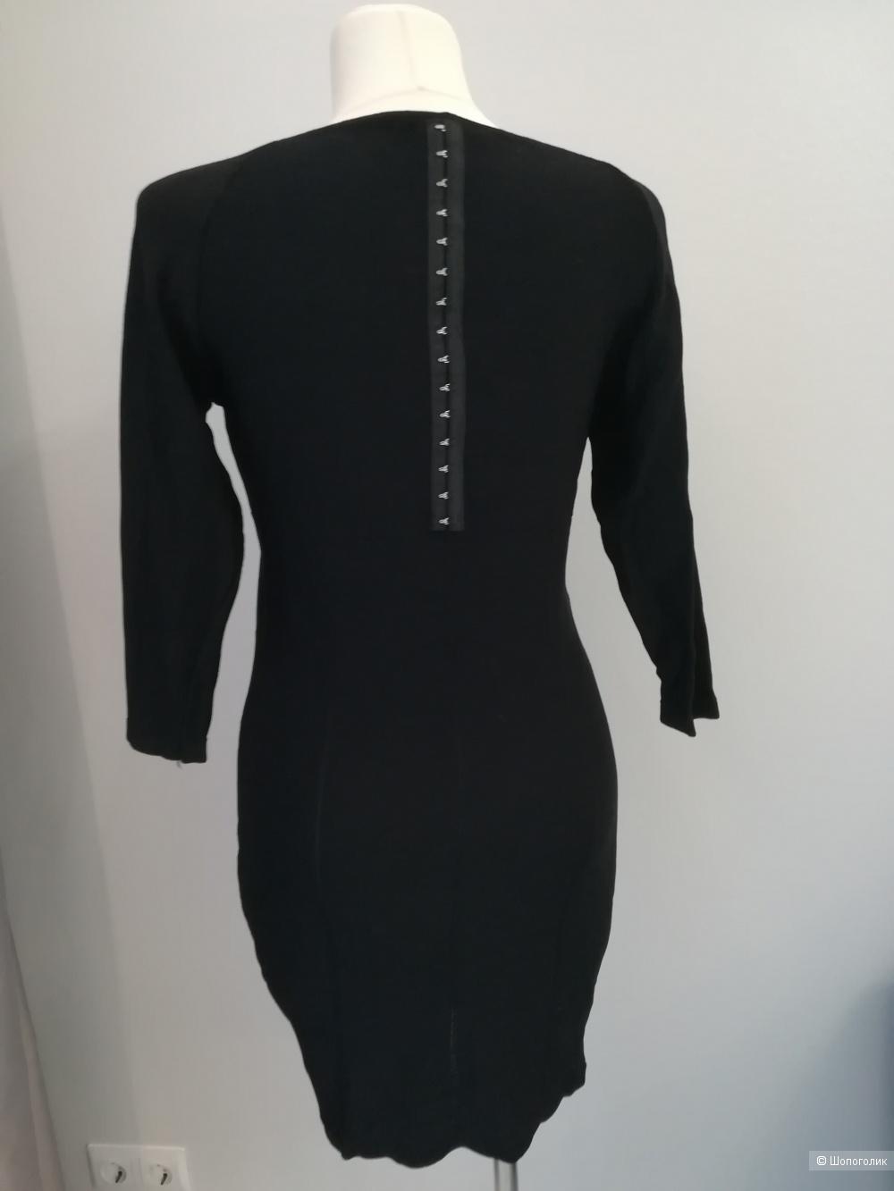 Трикотажное платье hm,44-46