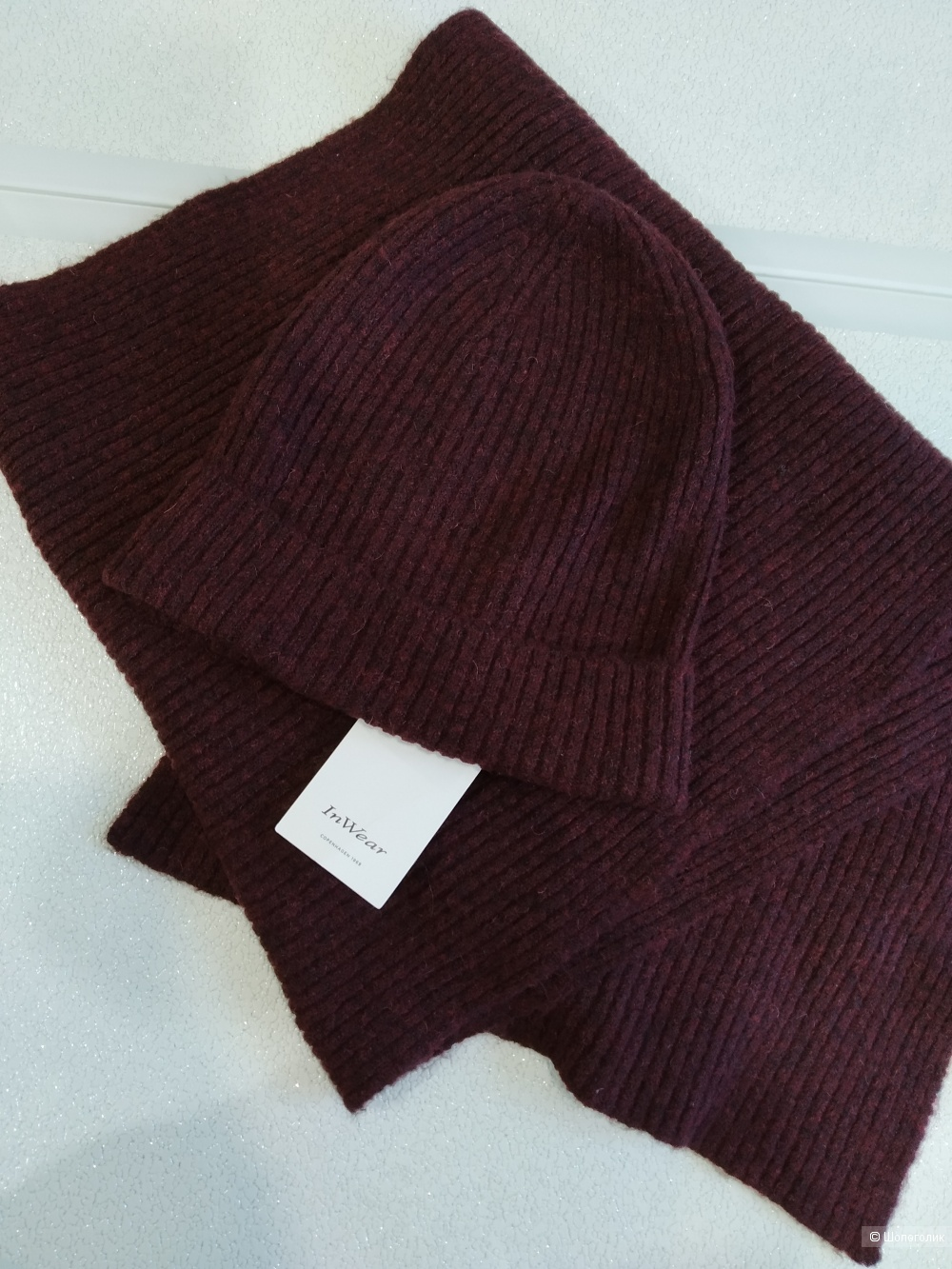 Комплект шапка+шарф in wear размер one size