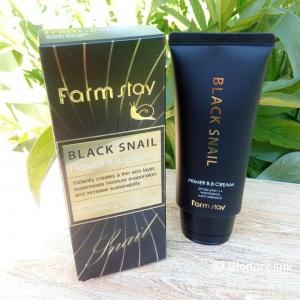 Многофунцкиональный ББ-крем с муцином черной улитки FarmStay Black Snail Primer BB Cream SPF 50+ PA+++