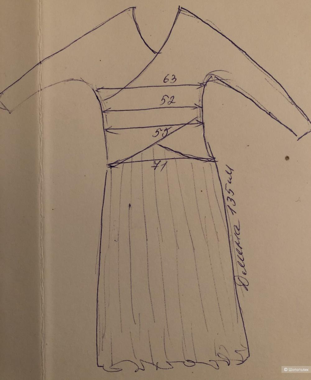 Шелковое платье Diana VonFurstenberg,XL