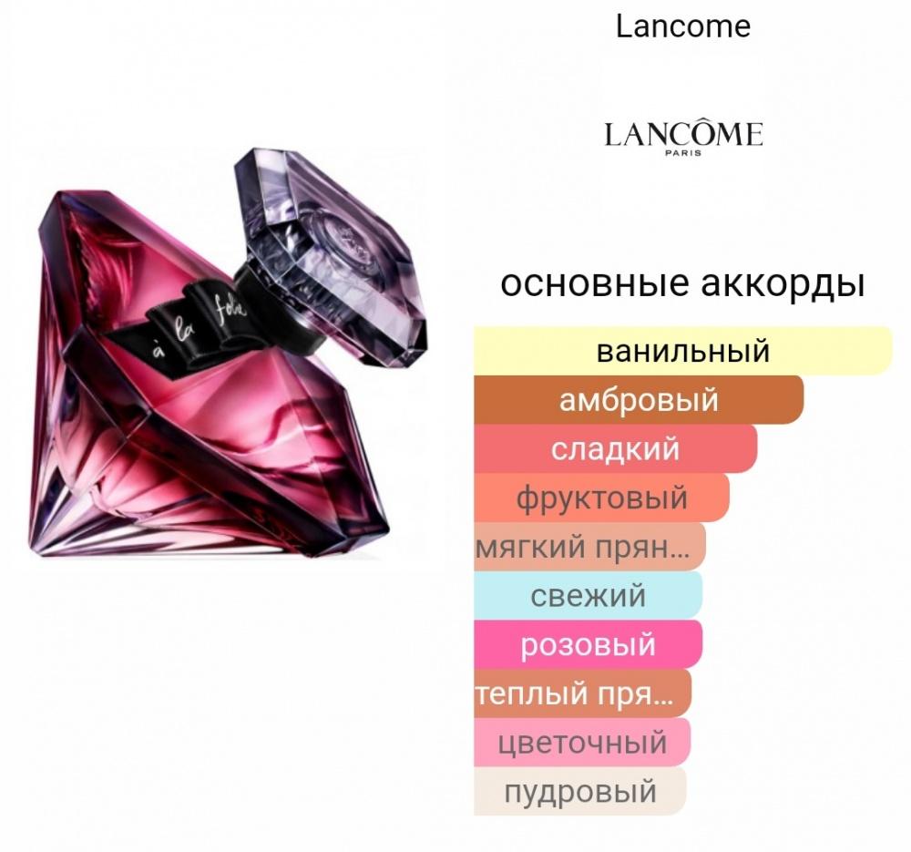 Парфюмированная вода Lancome la nuit Tresor a la folie,75 ml