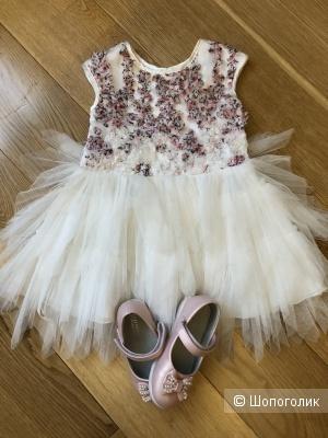 Праздничное платье Nanette Lepore на 1-2 г