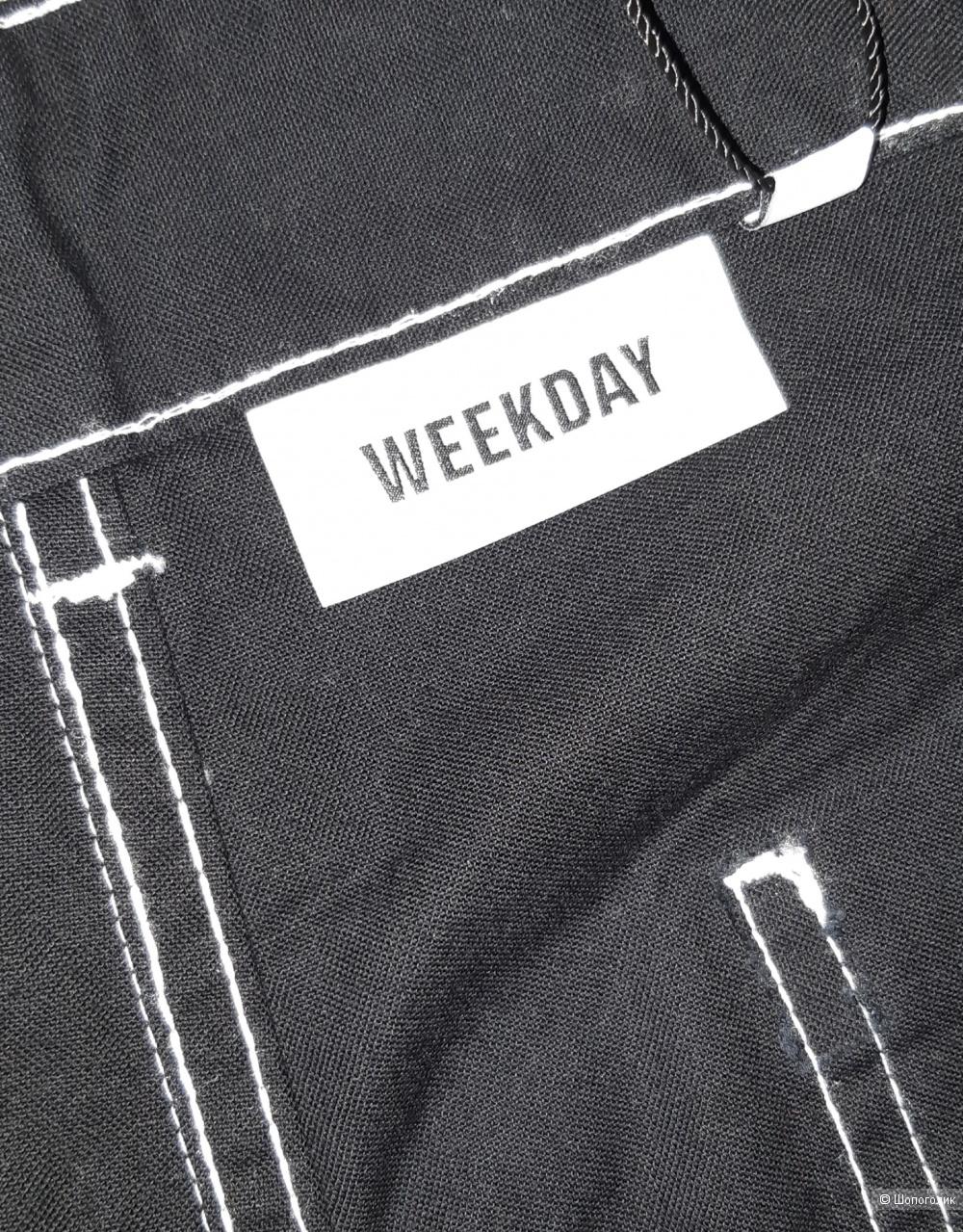 Брюки weekday, размер 46