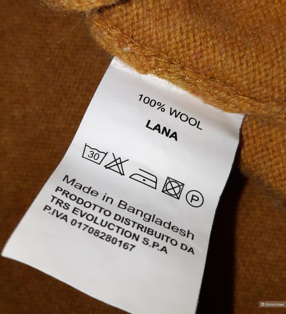 Шерстяной свитер trussardi, размер l