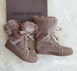 Зимние ботинки Louis Vuitton женские 36/37/38/39 размер