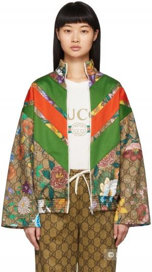Куртка жакет Gucci flora,42-48