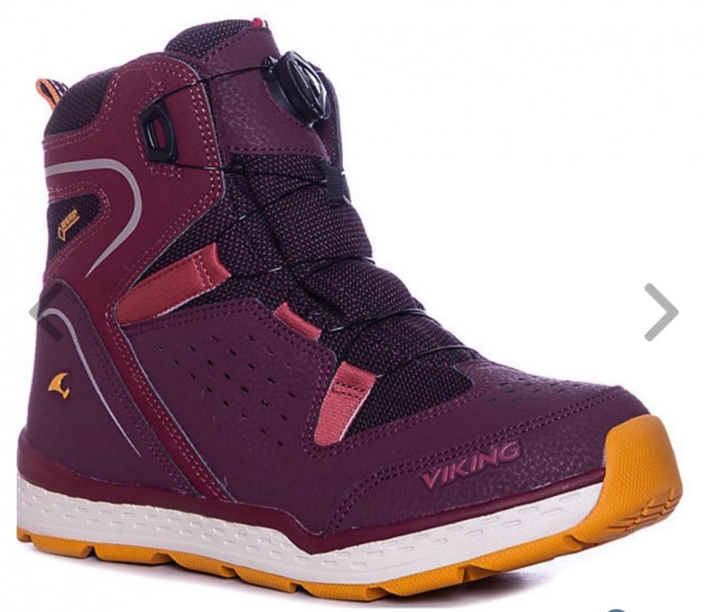 Viking зимние ботинки для девочки 35 р.