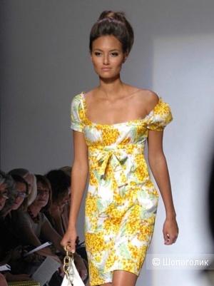 Платье с показа Diane von Furstenberg S