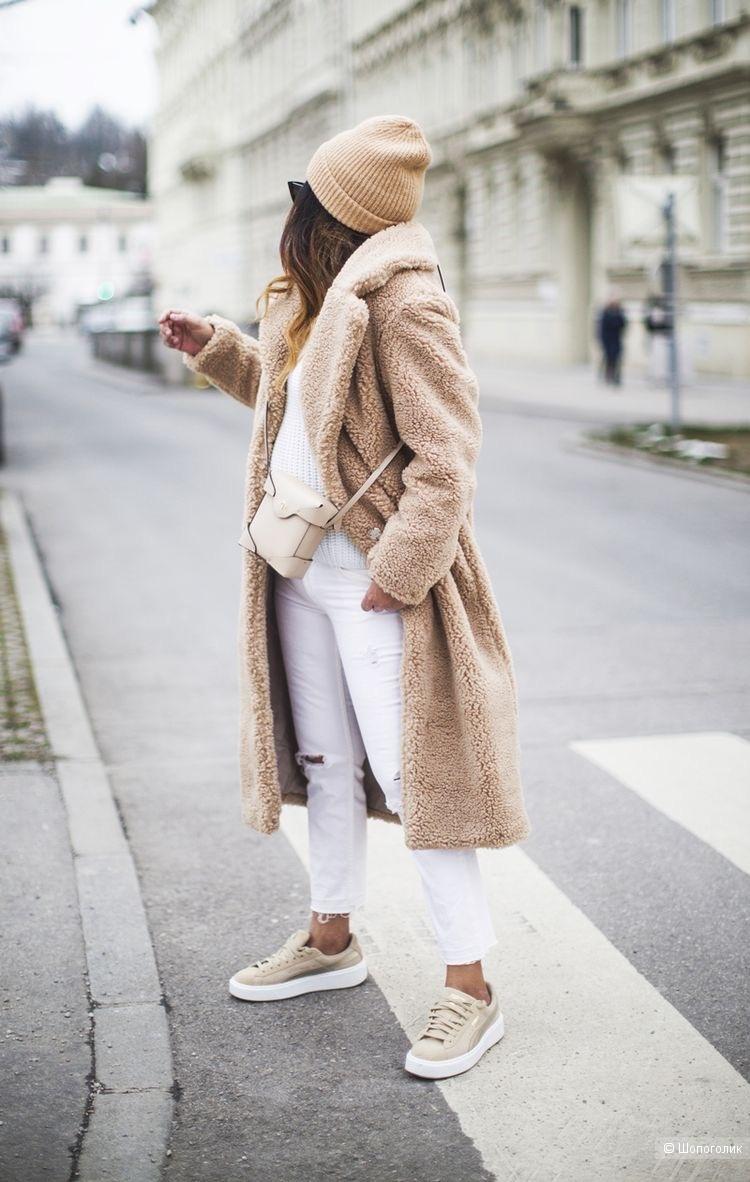 Пальто шуба Teddy italy coat, one size