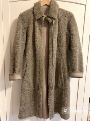 Пальто (дубленка) Тедди размер 42-44