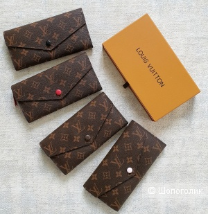 Кошелек Louis Vuitton с откидным клапаном