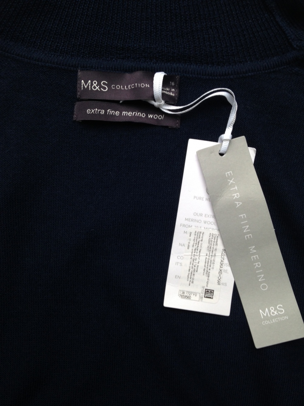 "Водолазка "" Marks & Spencer "", 50 размер"