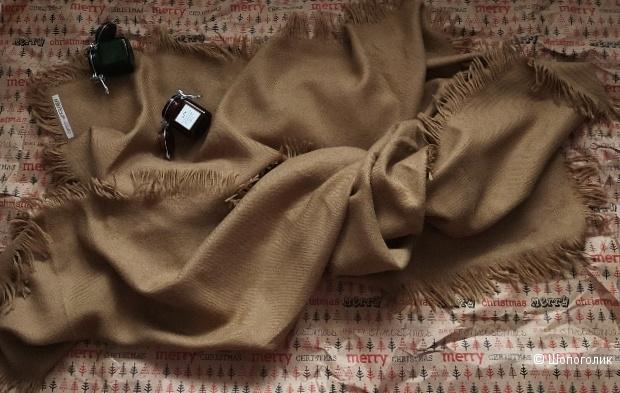 Шерстяной палантин - шарф Clisa размер 130-130