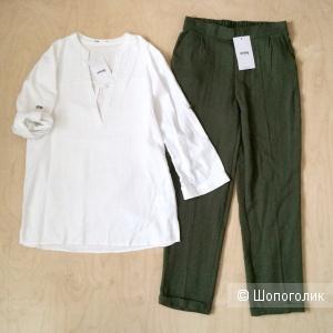 Комплект блузка и брюки Sinsay размер S