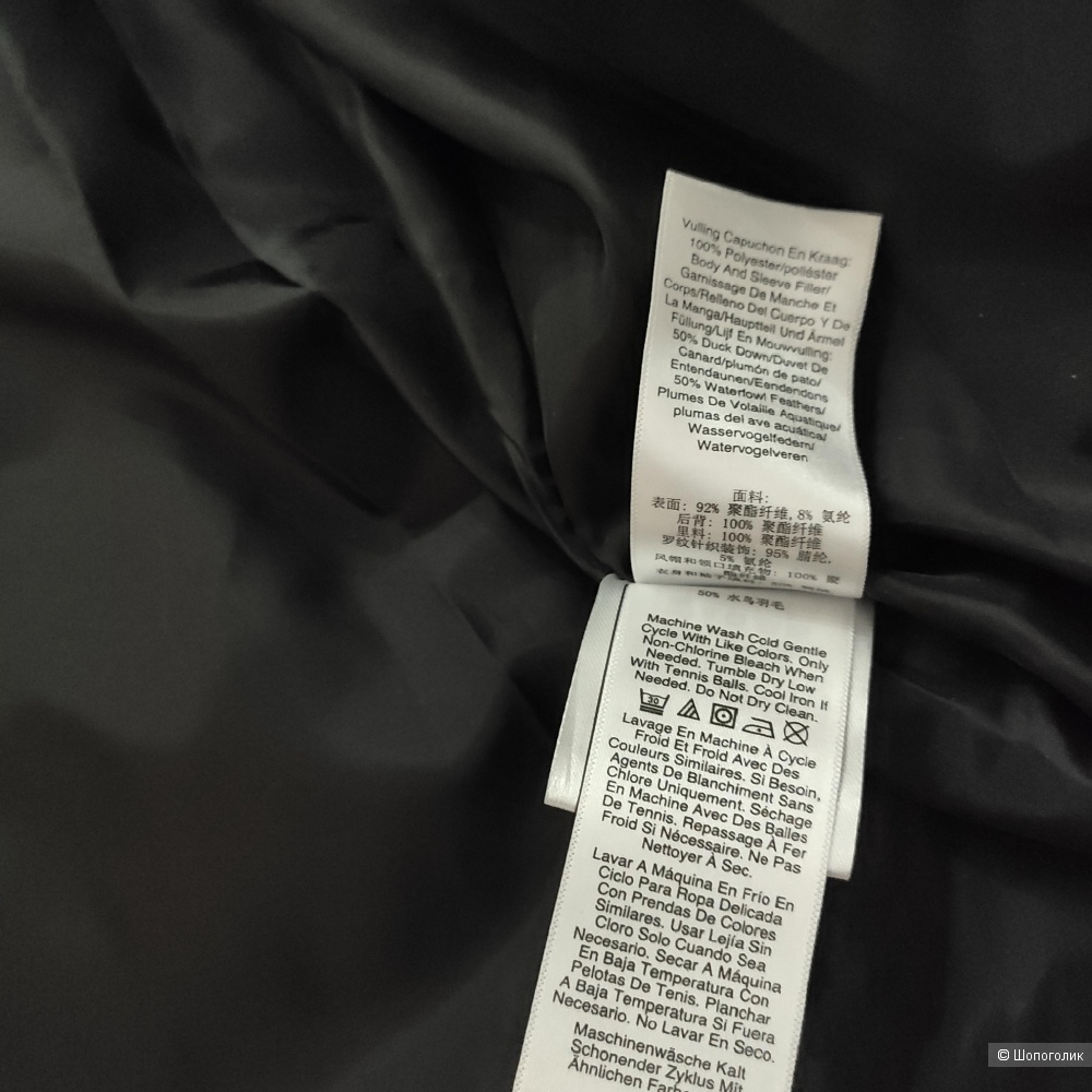 Пуховик DKNY, размер М