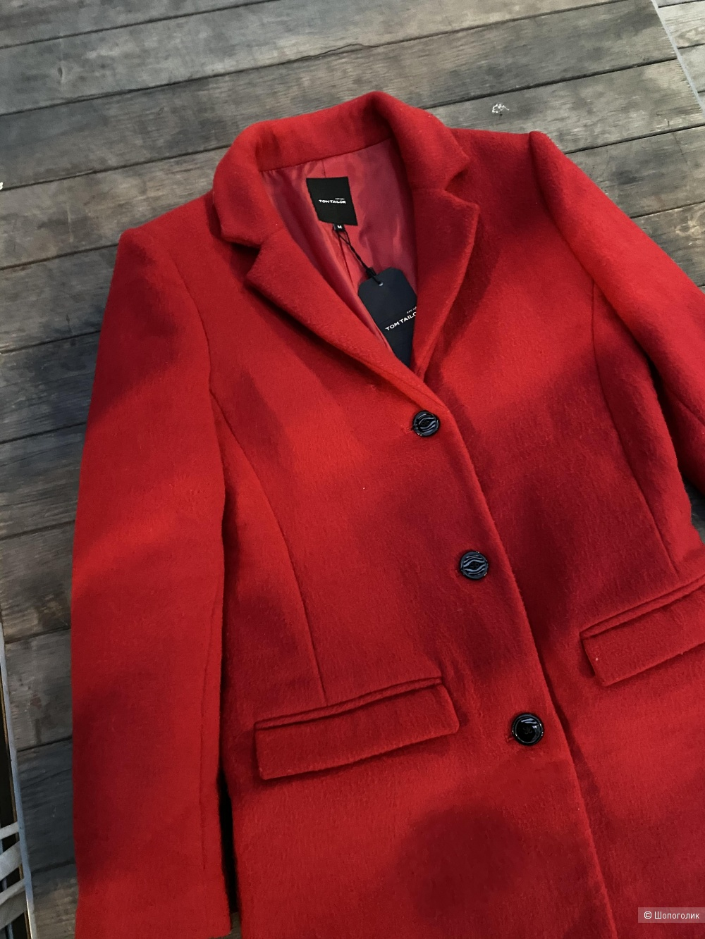 Шерстяное пальто Tom Tailor, pp M