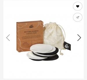 Cult beauty Reusable bamboo cotton pads 5 шт.