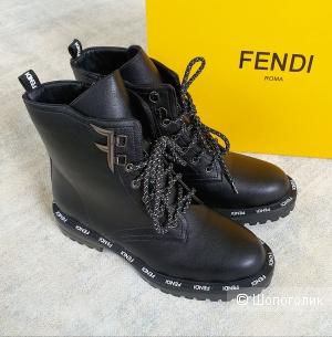 Ботинки Fendi кожаные женские 36\37\38\39\40 размер