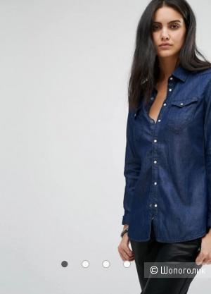 Джинсовая рубашка g star, размер m/l