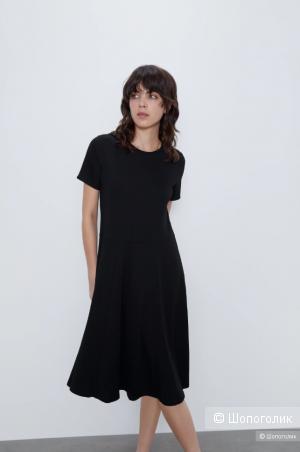 Платье Zara из джерси. Размер: М (на 44).