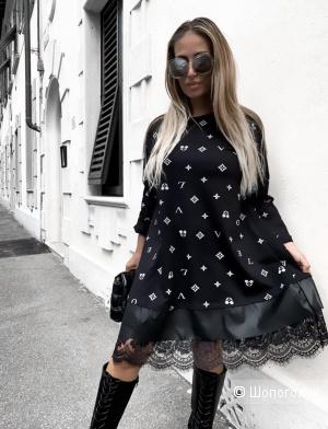 Платье с кружевом Italy Collection новый год, 42-50