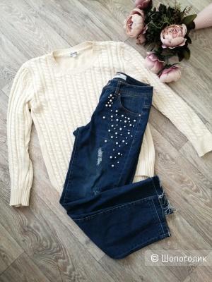 Лук свитер и джинсы concept Club, размер S.