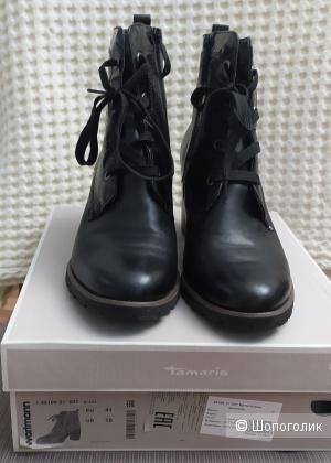 Ботинки женские. Tamaris. Размер 41