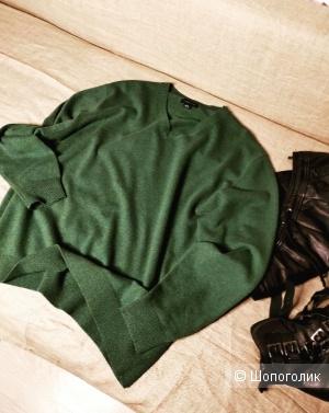 Кашемировый пуловер Lands'End  размер 48/50/52