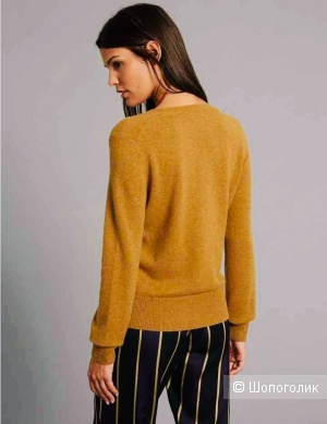 Кашемировый джемпер свитер C&M Pure Cashmere размер S