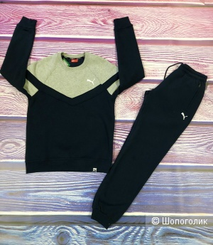Мужской утеплённый костюм Puma р.42-52