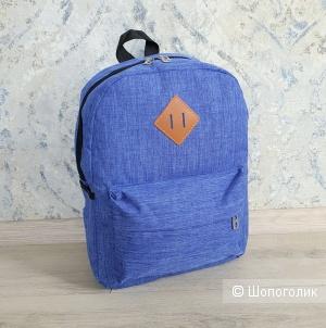 Рюкзак школьный/для учебы (синий)