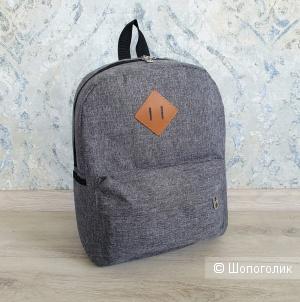 Рюкзак школьный/для учебы (серый)