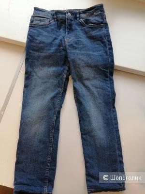 Утепленные джинсы Lands' End, р. 146 (10-11 лет)
