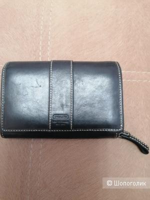 Кожаный кошелёк Coach