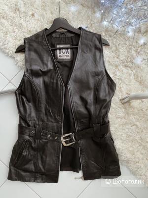 Кожаный жилет Box размер S - M - L