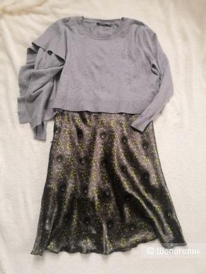 Комплект юбка и джемпер, размер 44