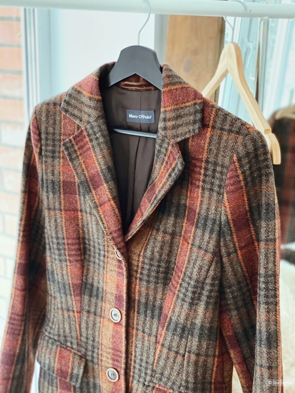 Шерстяное пальто Marc O'Polo размер 38