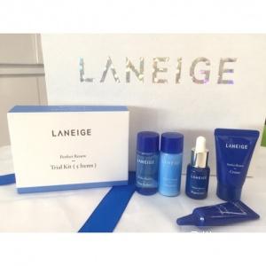 Набор миниатюр для интенсивного увлажнения и борьбы с первыми признаками старения Laneige Perfect Renew Trial Kit, 5шт