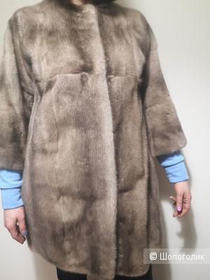 Норковая шуба, 44 размер